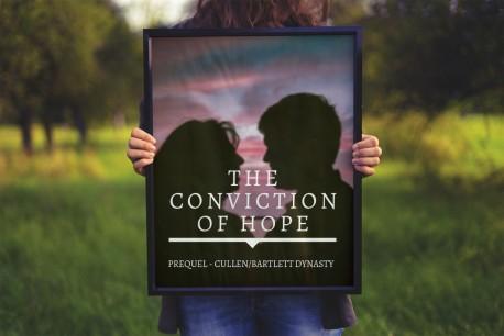 conviction of hope frame mockup